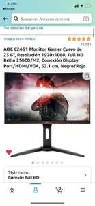 Amazon: Monitor AOC C24G1