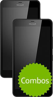 Movistar en línea: Combo 2 Lumia 640 XL por $3,499