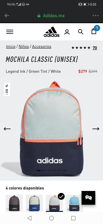 Adidas: Mochila adidas Classic
