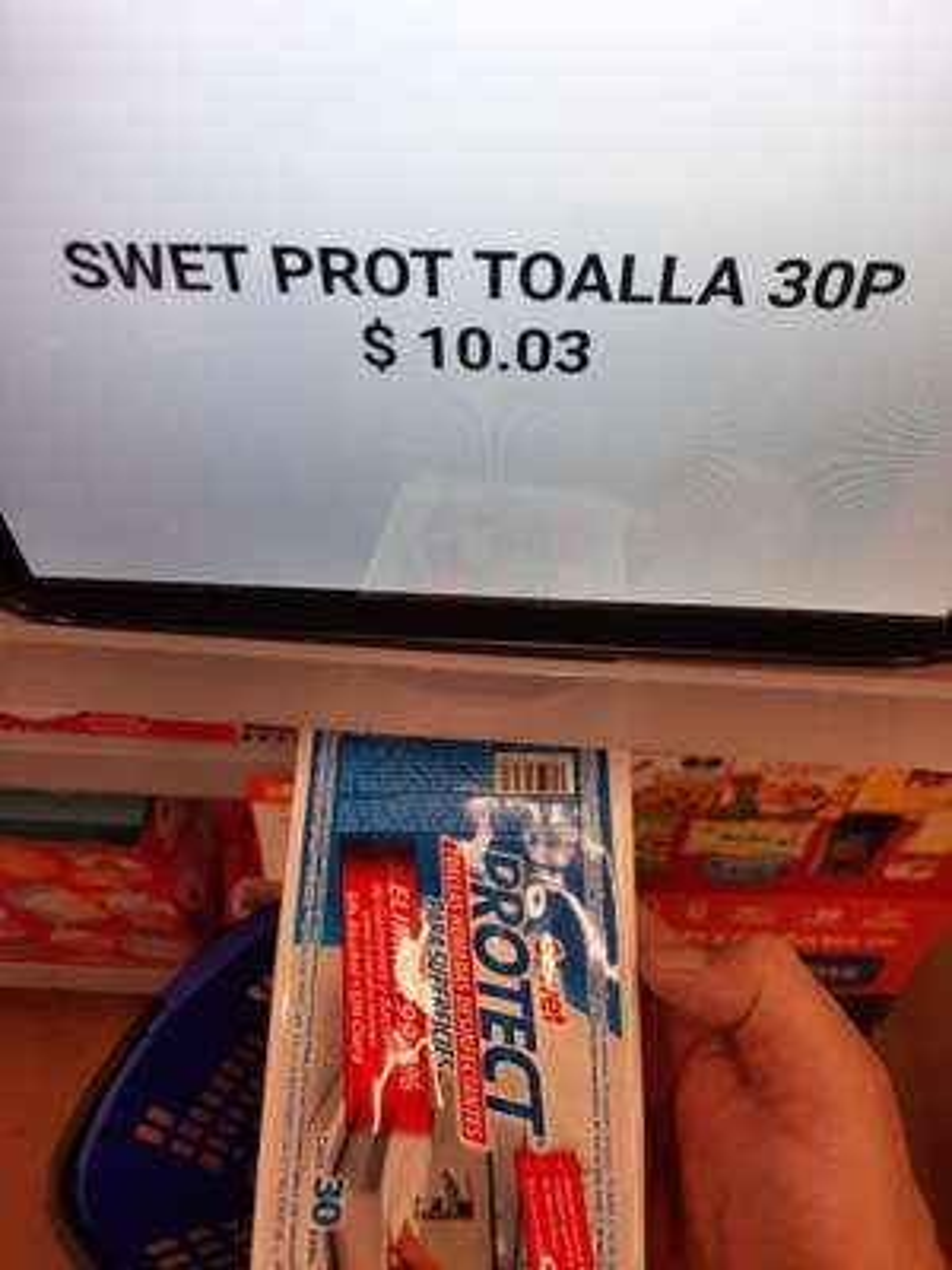 Walmart Toallitas húmedas