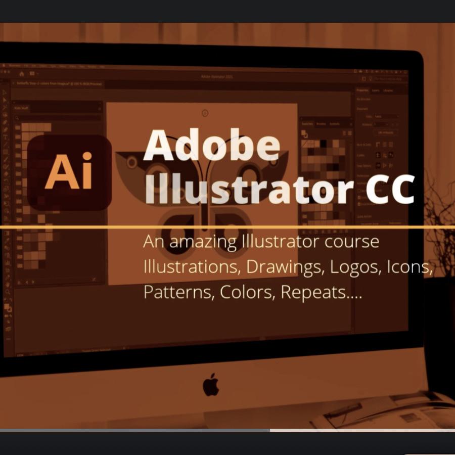 Udemy Inglés: Adobe Illustrator CC 2021: Essential Graphic Design Training