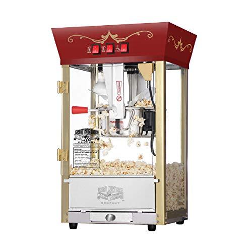 Amazon: Great Northern Popcorn Máquina de palomitas de maíz, estilo antiguo