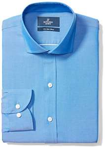 Amazon: Camisa buttoned down 17.5; 35; french blue.