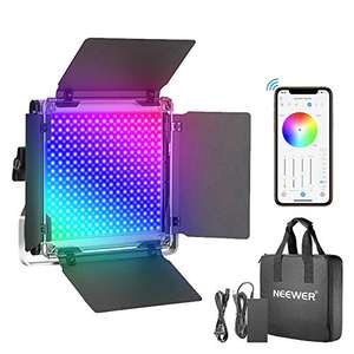 Amazon: Luz LED Neewer 660PRO RGB