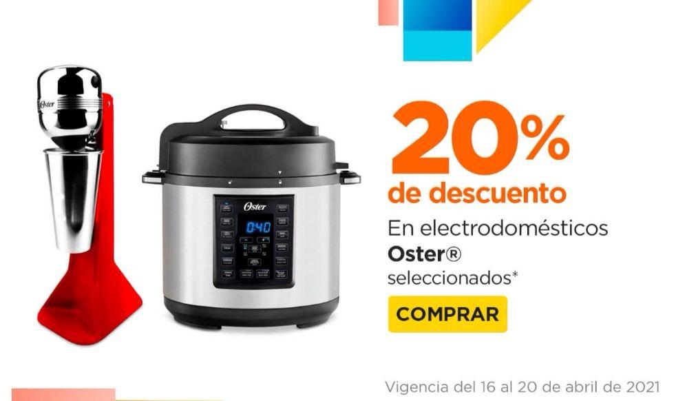 Chedraui: 20% de descuento en productos seleccionados Oster