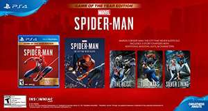 Amazon: Marvel's Spider-Man: Game of The Year Edition - PS4