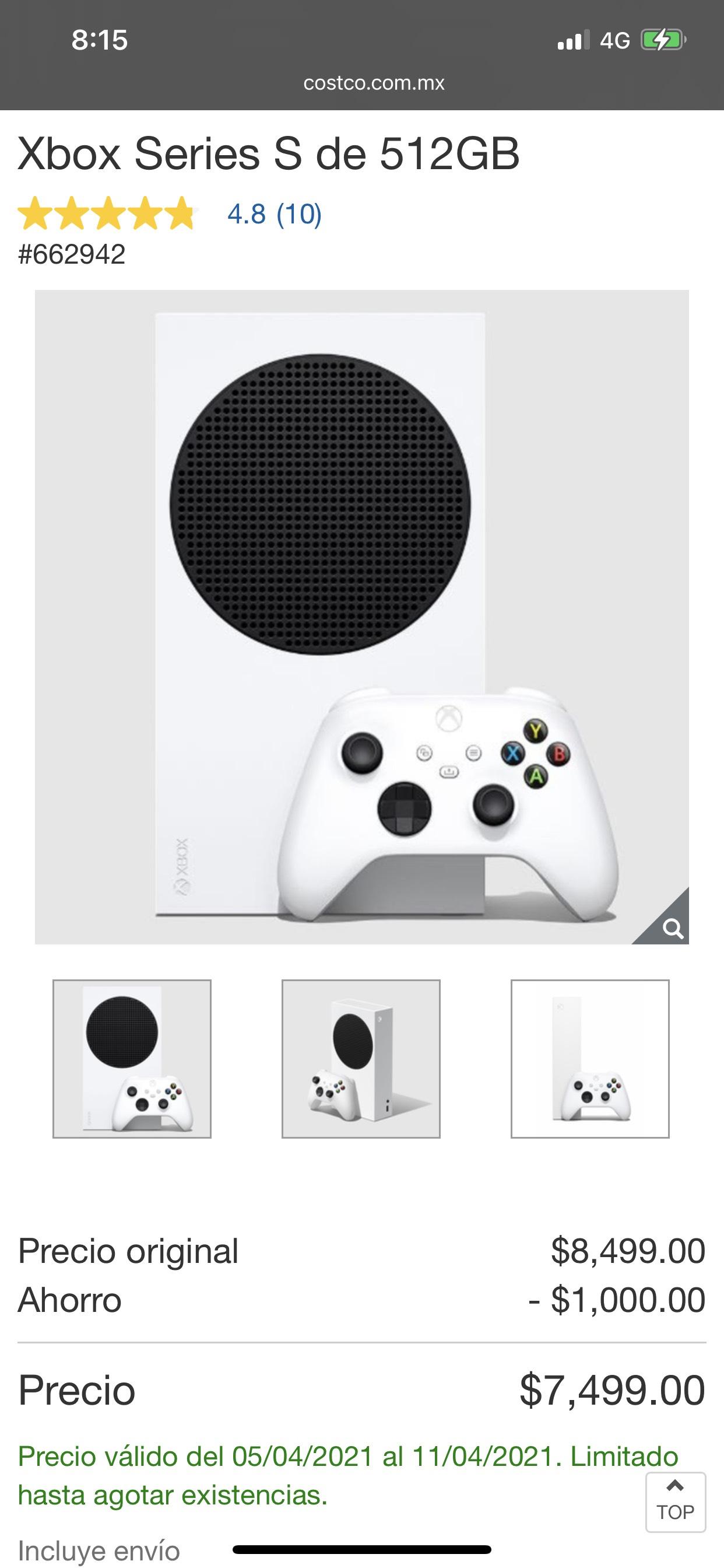 Costco: Xbox series S