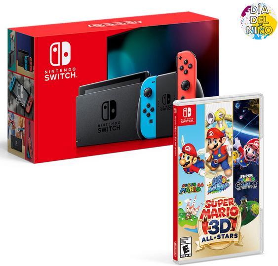 Costco: Consola Switch 1.1 + Super Mario 3D All Star