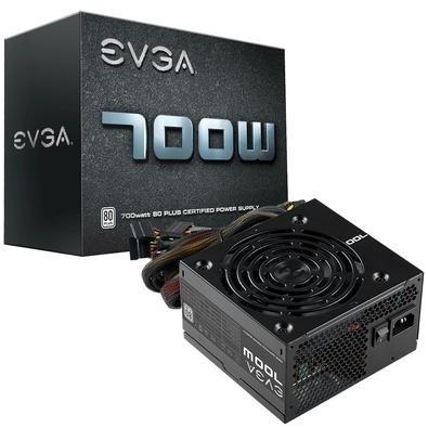 CyberPuerta: Fuente de Poder EVGA 700W B1 80 PLUS White 700W