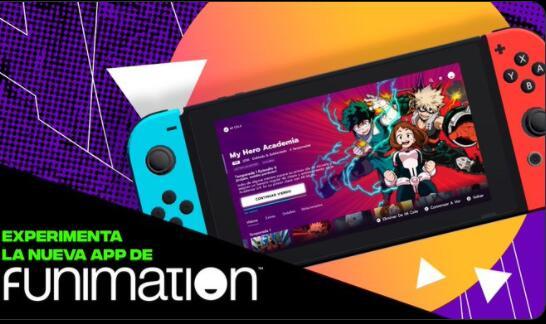 Funimation: 14 Días GRATIS en Nintendo Switch México