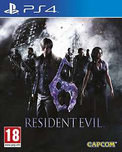 Amazon: Resident Evil 6 Remastered para PS4