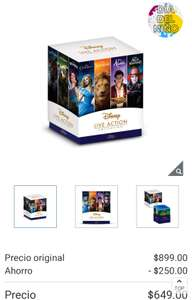 Costco: 7 clásicos de Disney live action blue ray