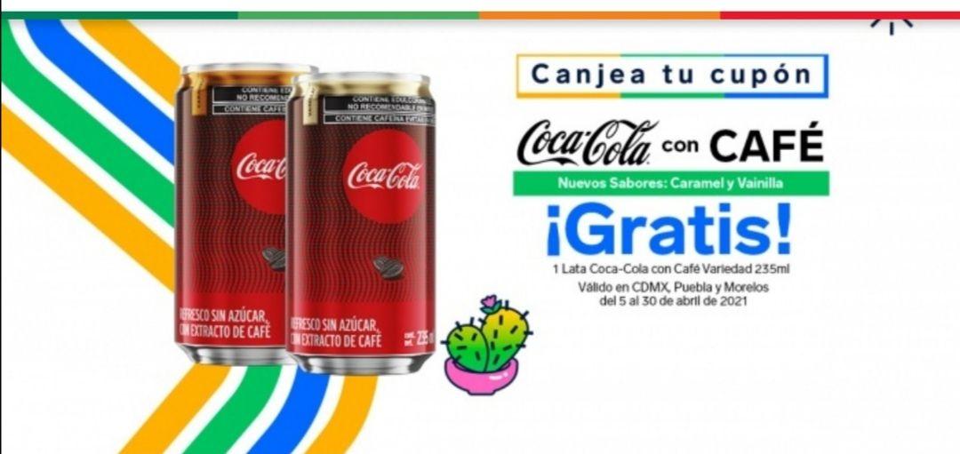 7 eleven. Coca cola con café gratis Cdmx, Puebla y Morelos