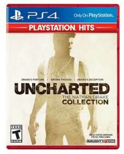 Amazon: Uncharted: The Nathan Drake Collection Playstation 4