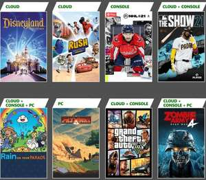 Xbox Game Pass: Grand Theft Auto V, MLB The Show 21, Zombie Army 4: Dead War, Xbox Touch Controls y otros.