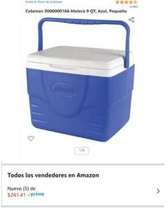 Amazon: Hielera coleman 9 qt