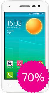 Movistar: Alcatel POP S3 en $810 con cupón