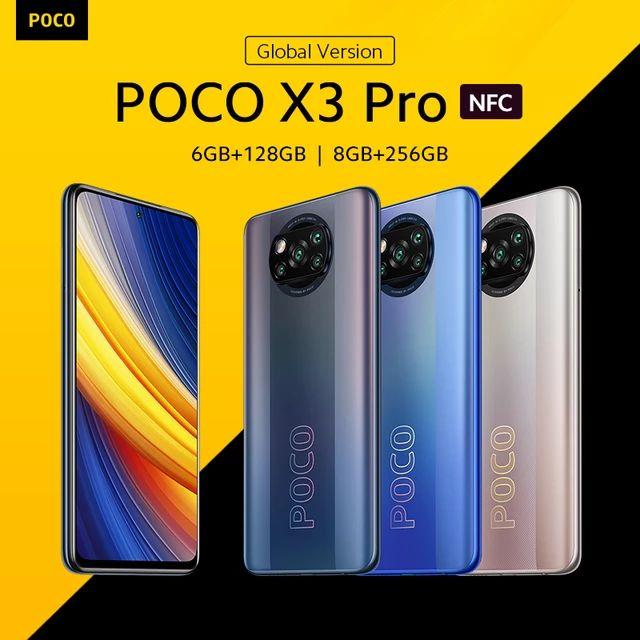 Aliexpress: Poco x3 pro 6gb/128gb $5412 y 8gb/256gb $6245