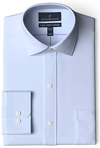 Amazon: Camisa AMARILLO CLARO. Buttoned Down. Cuello 17.5; manga 36