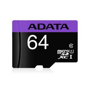 Mi PC: Memoria micro sd 64gb adata con adaptador