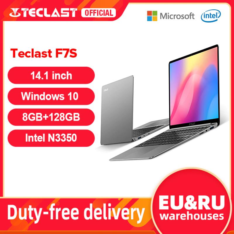 AliExpress, Laptop Teclast F7s Full HD con bluetooth y mini hdmi