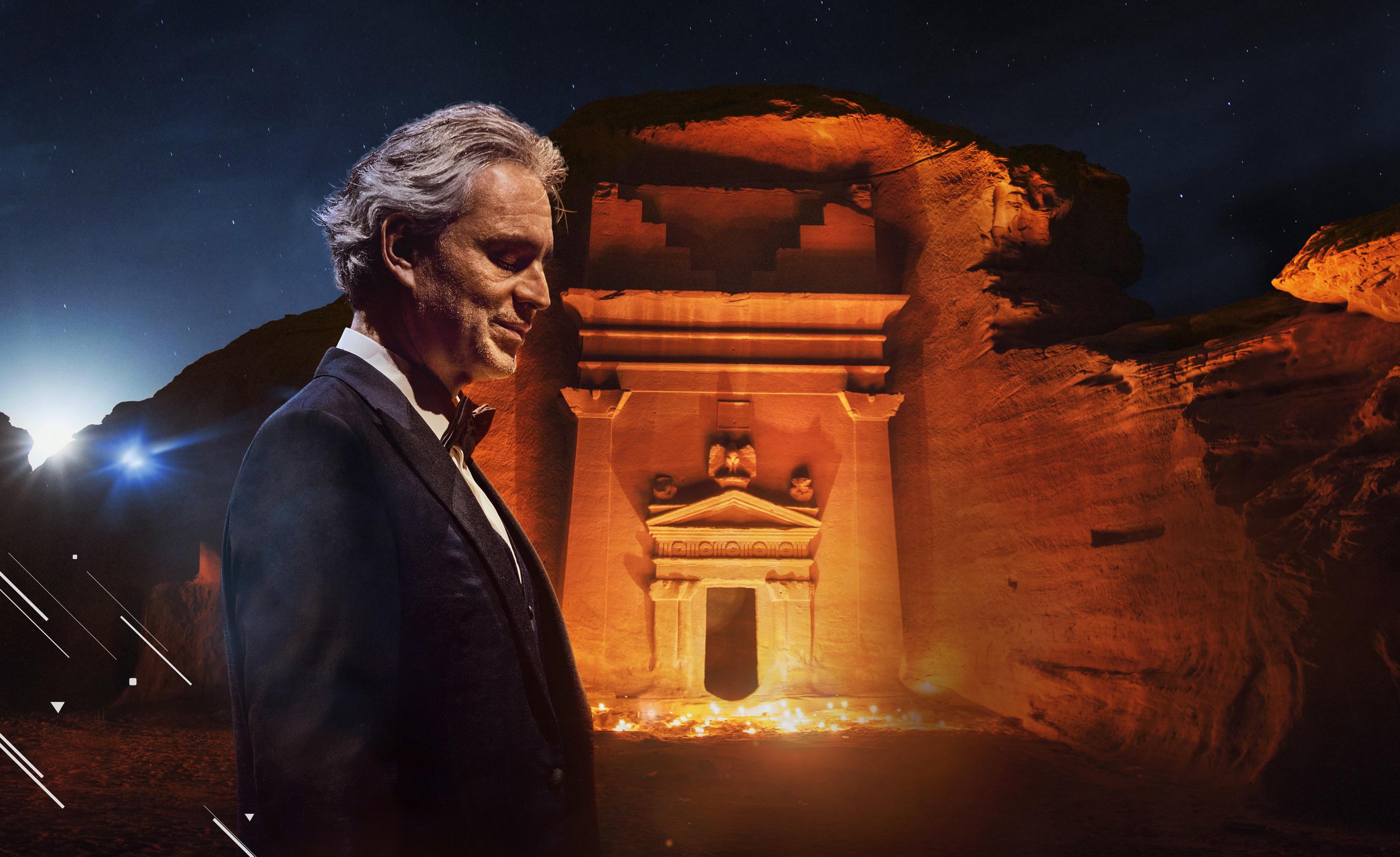 Concierto Gratuito Maestro Andrea Bocelli en Hegra en vivo por YouTube [8 de Abril 2 pm]