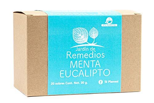 Amazon: Té. Menta Eucalipto Jadín de Remedios Jardín de Remedios Menta Eucalipto, Menta, 30 gramos