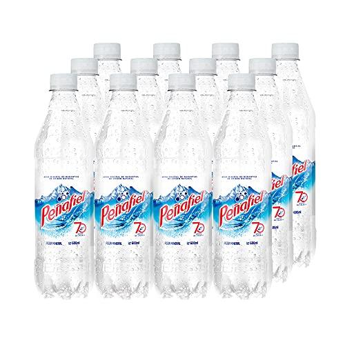 Amazon: PEÑAFIEL, Agua Mineral 600 ml, Botella Pet, 12 piezas