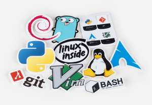 Sticker Mule: Paquete de stikers para laptop
