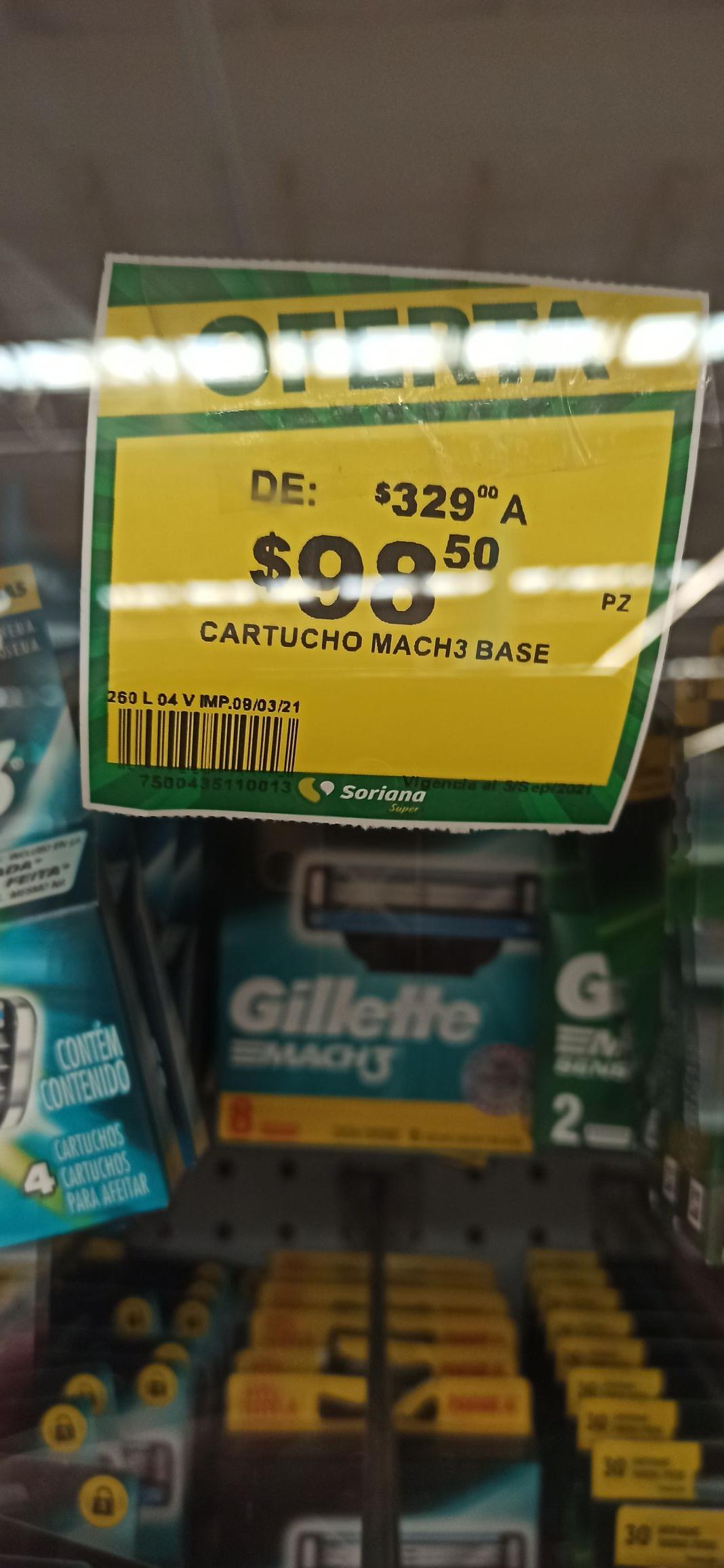 Soriana Los Ángeles: Cartuchos Match3 8 piezas a 98.50
