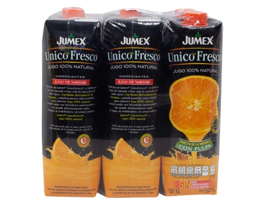 Sam's Club Mérida: Jumex Unico Fresco 6 Jugos de Naranja