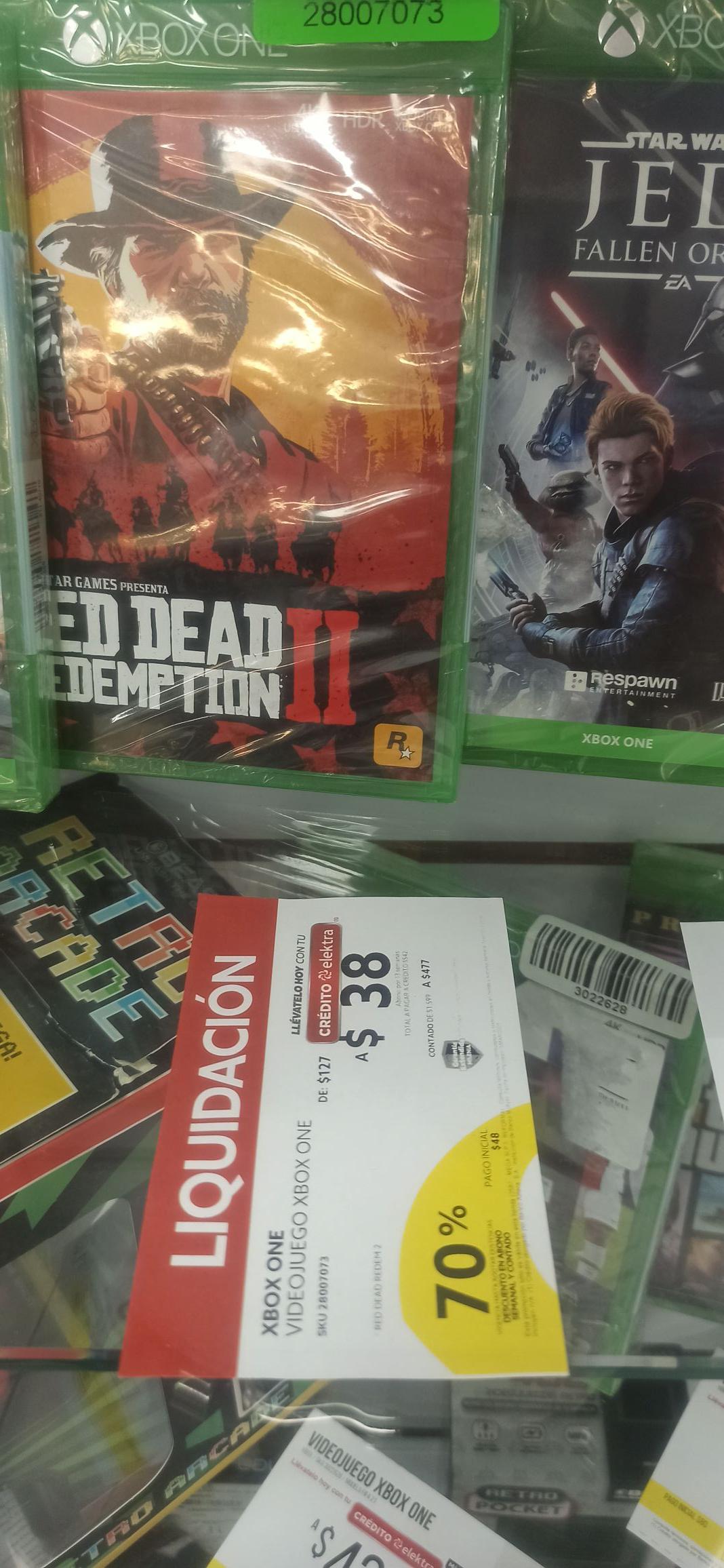 Elektra Reforma SLP: Red dead redemption 2 xbox one