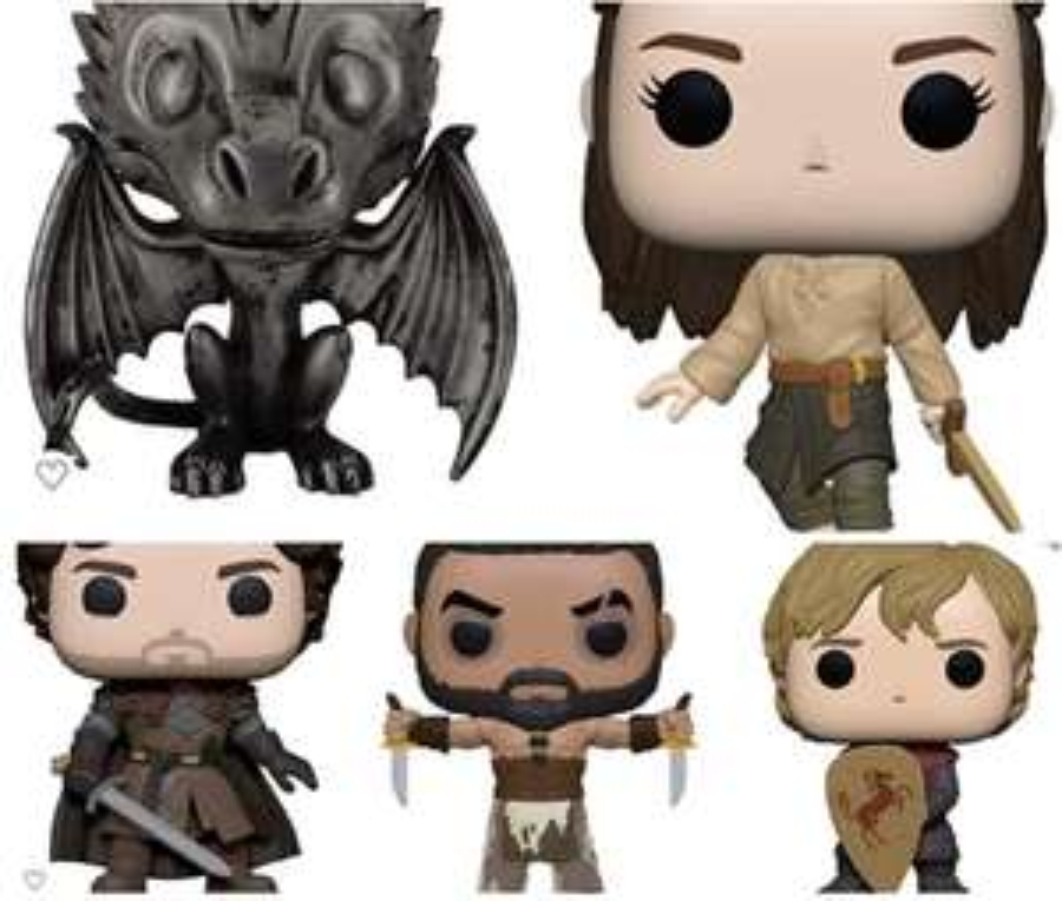 Amazon: Preventa - Funko Pop! TV: Game of Thrones - Khal Drogo with Daggers