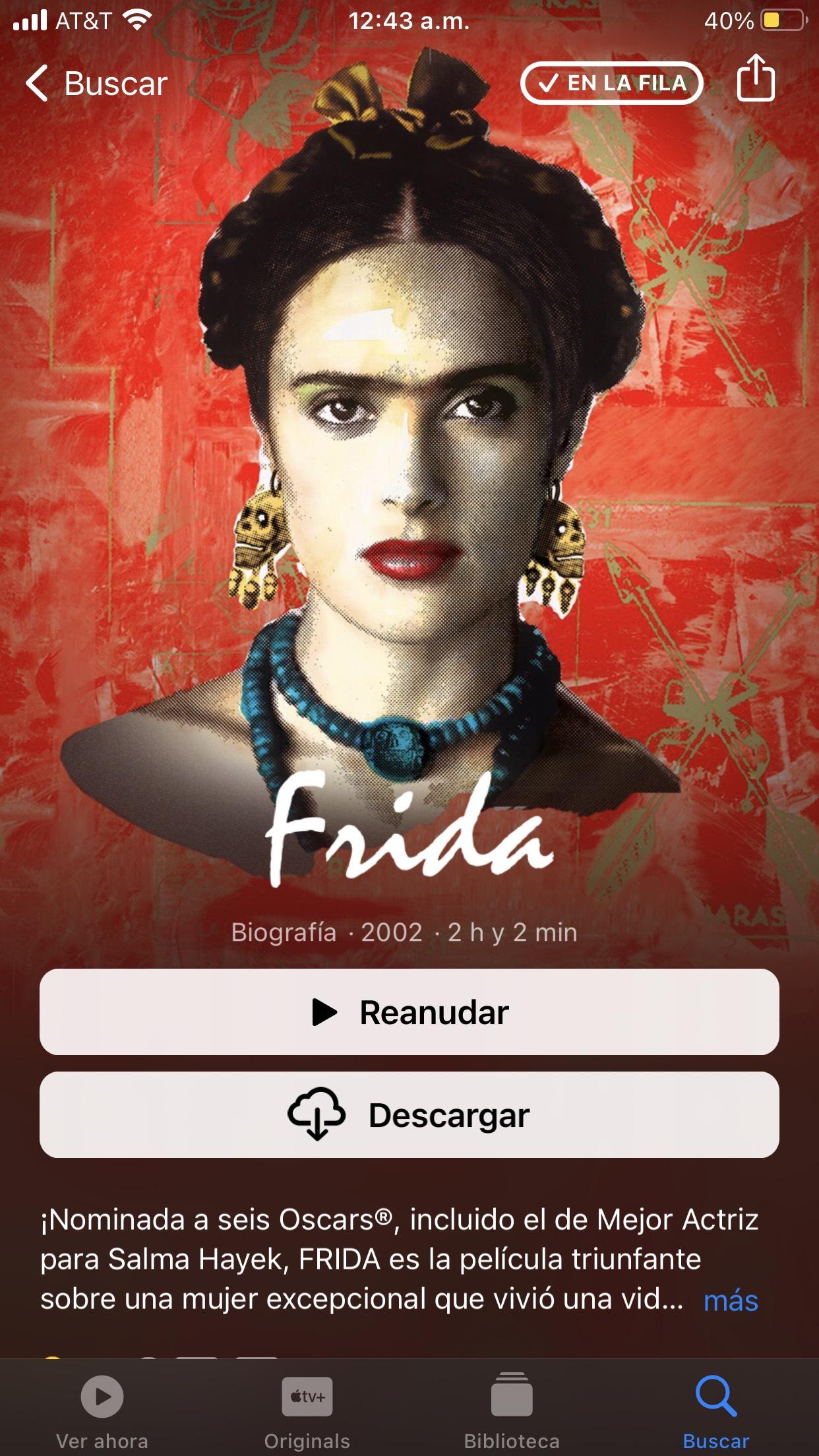 iTunes: Frida