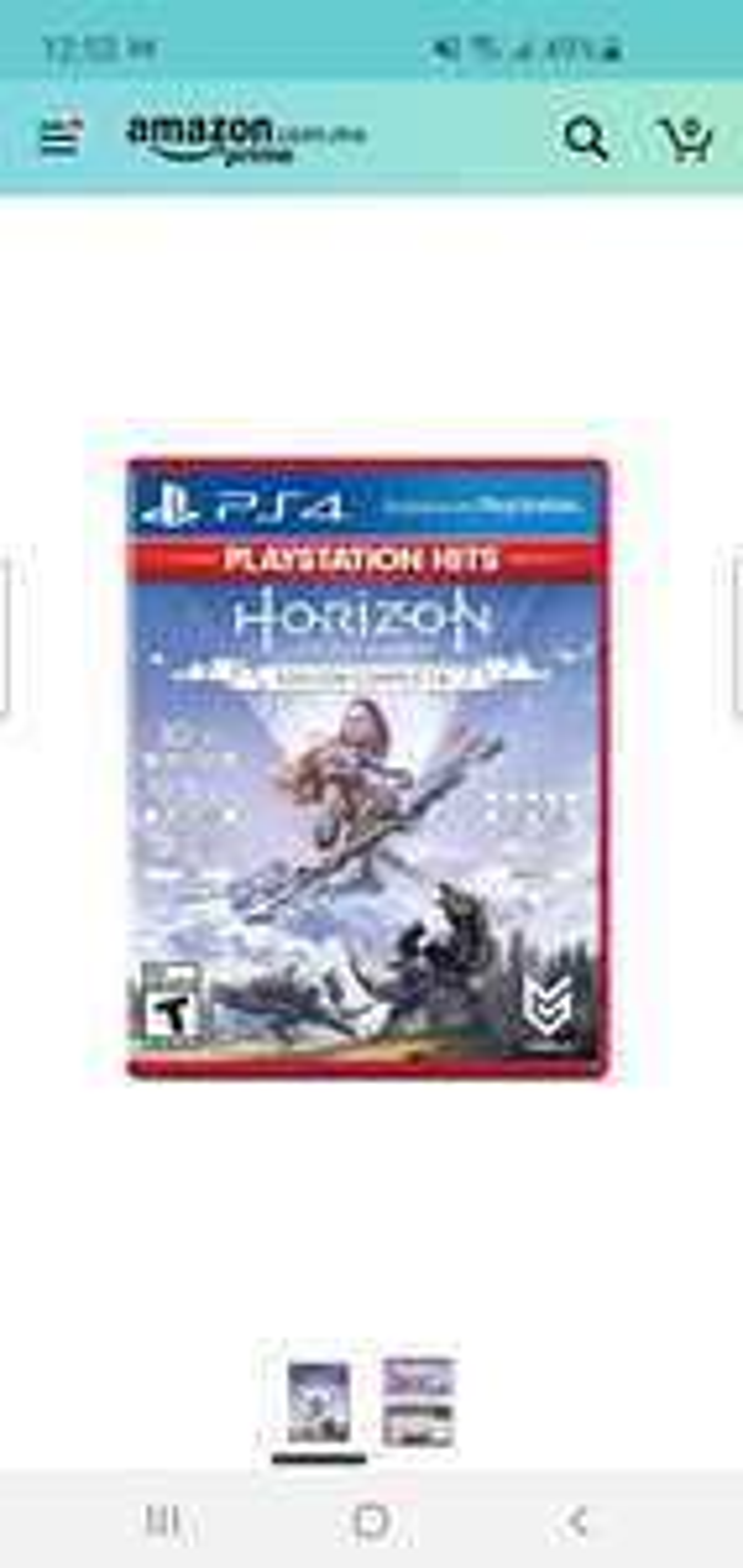 Amazon: Horizon Zero Dawn Comolete Edition PS4