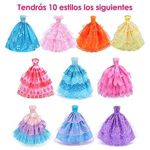 Amazon vestidos de muñeca