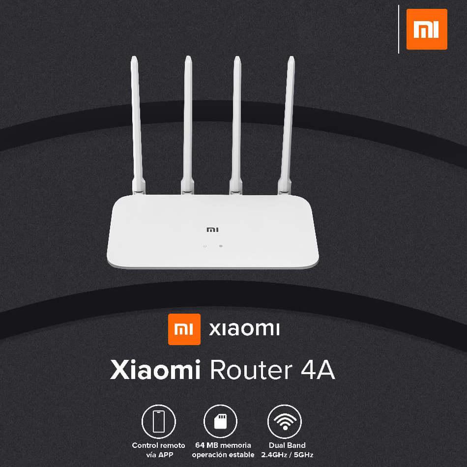 Linio: Router Xiaomi 4A Dual Band 2.4 y 5GHz (con PayPal) [Envío Rápido]
