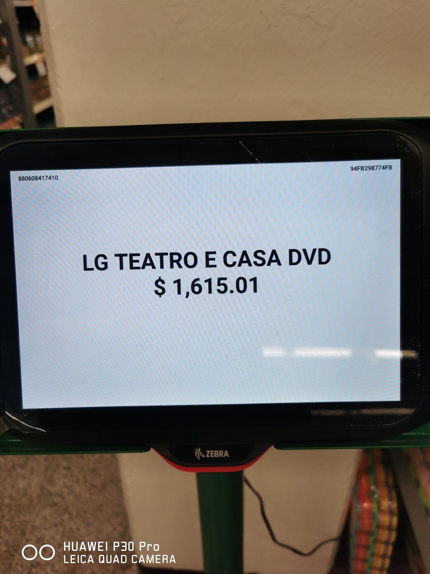 Bodega Aurrera: LG teatro en casa última liquidación