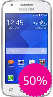 Movistar en línea: Samsung Ace 4 con cupón