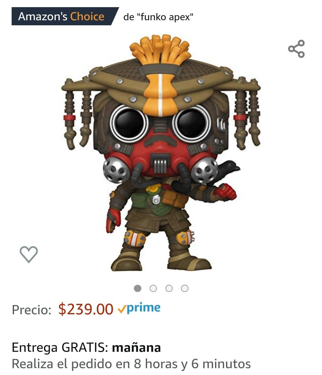 Amazon: Funko Pop! Games: Apex Legends - Bloodhound
