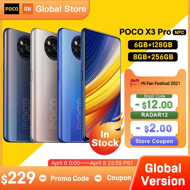 AliExpress: Poco X3 Pro 6GB 128GB con envío incluido
