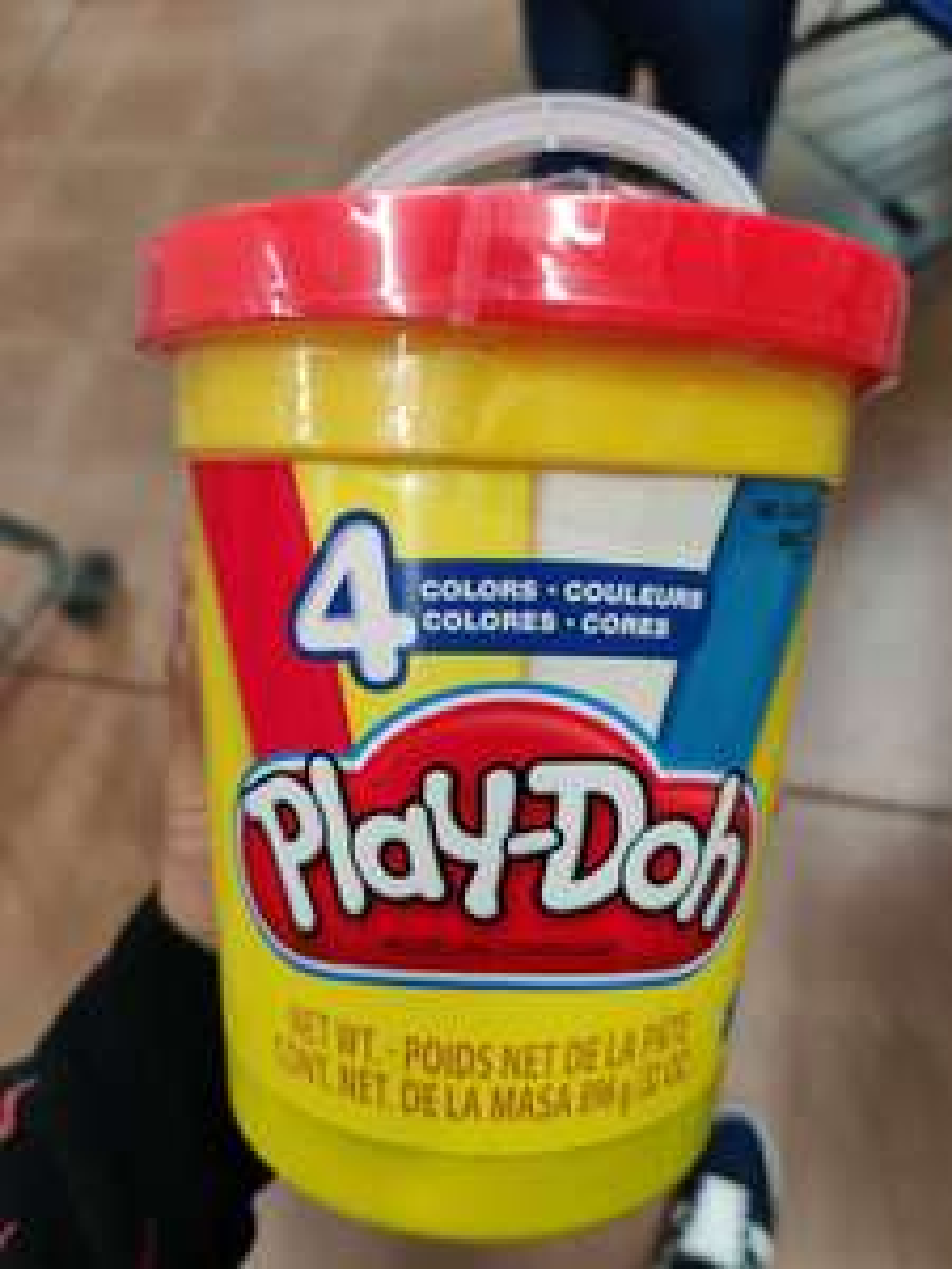 Walmart: Bote de 4 play-Doh