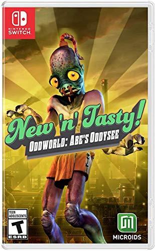 Amazon: Oddworld: New 'N' Tasty (NSW) - Nintendo Switch
