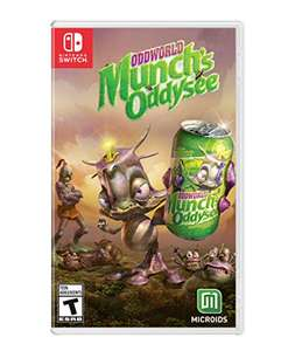 Amazon: Oddworld: Munch's Oddysee - Standard Edition - Nintendo Switch