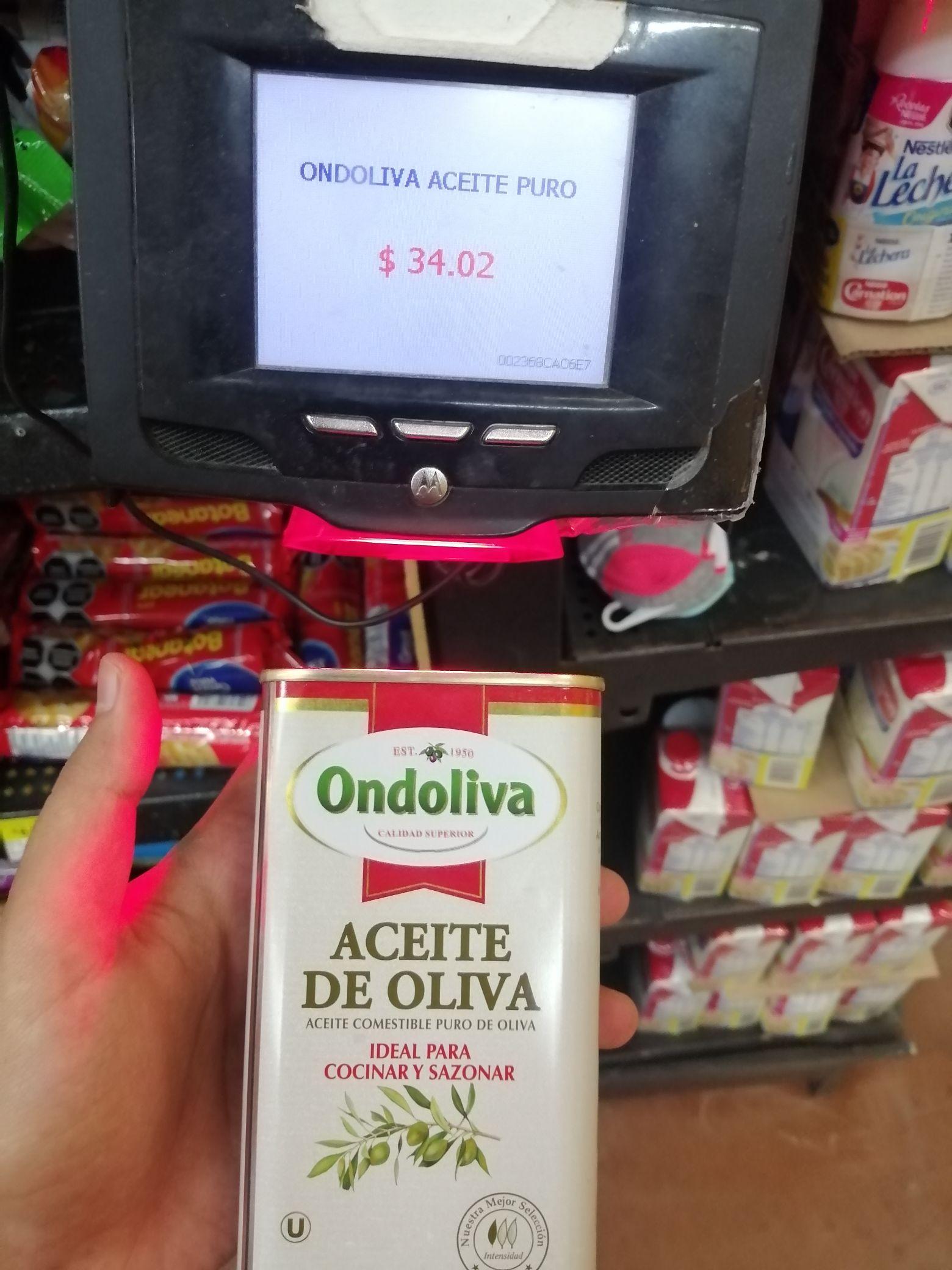 Walmart Guadalajara Parques: Aceite de Oliva, y otras cosillas.