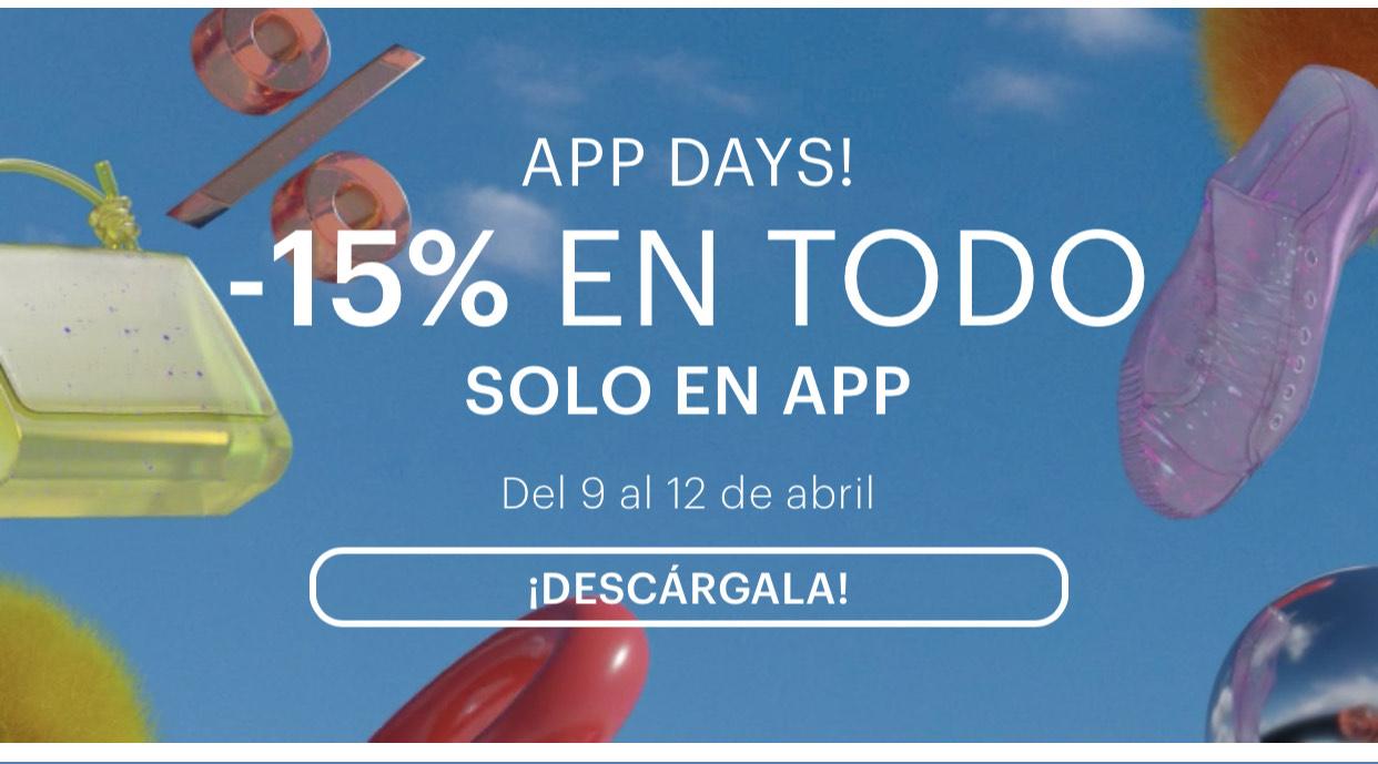 Pull & Bear: 15% De Descuento en toda la App