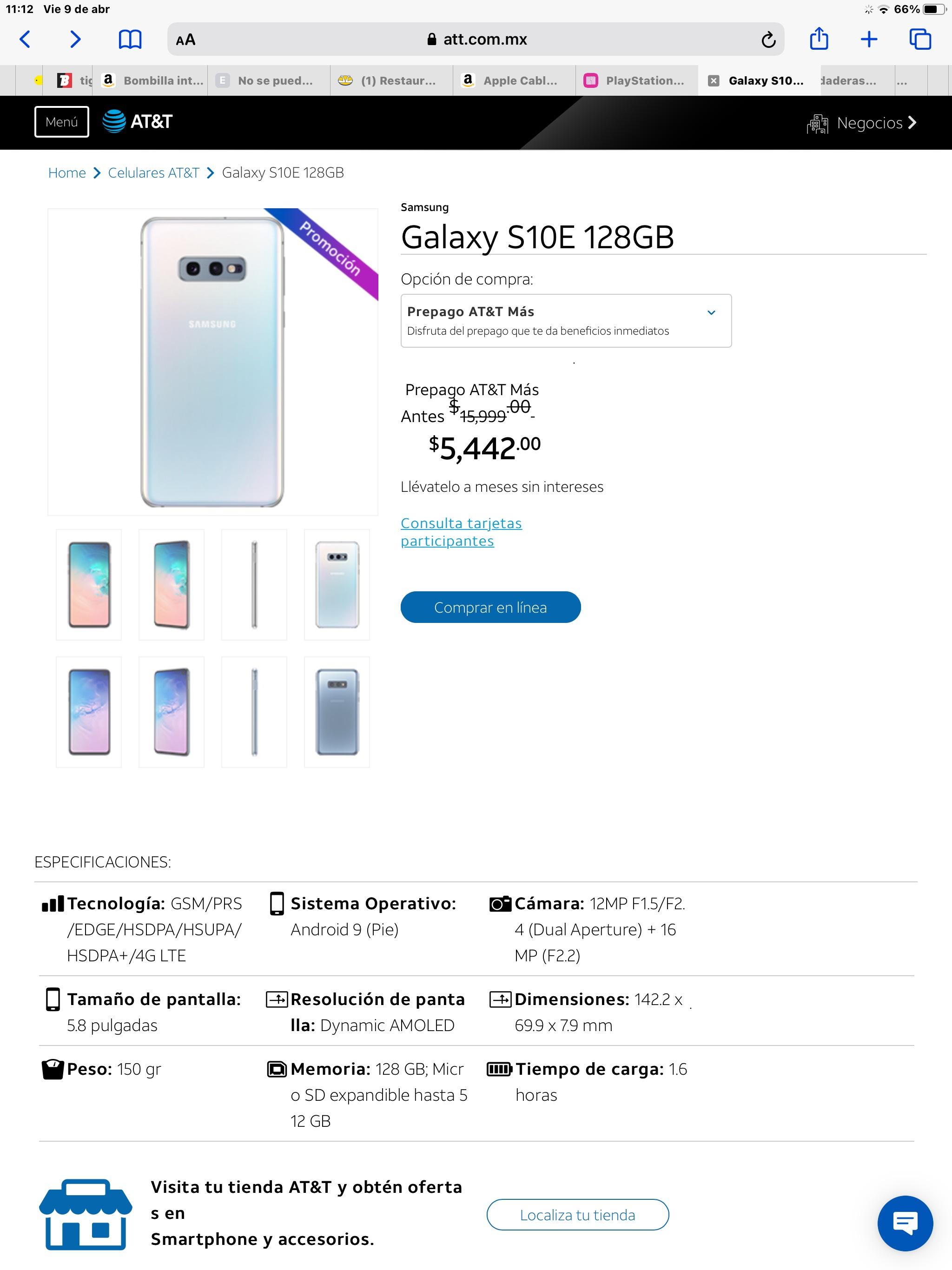 AT&T, Galaxy S10e