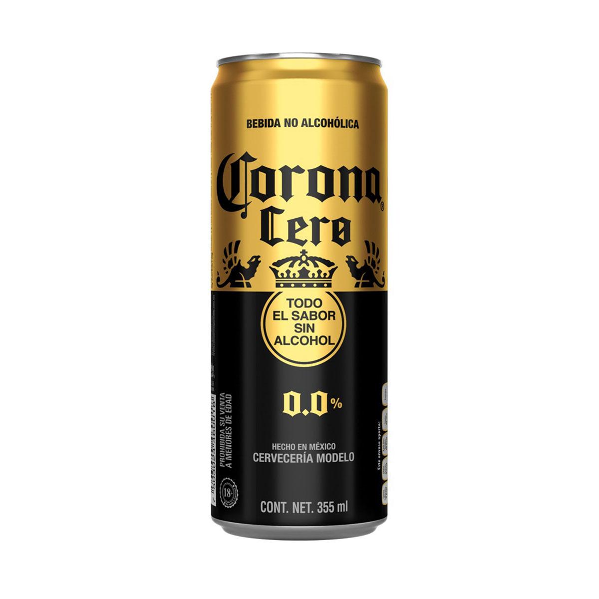 Chedraui Online $9,83 Corona Cero Lata 355 ml