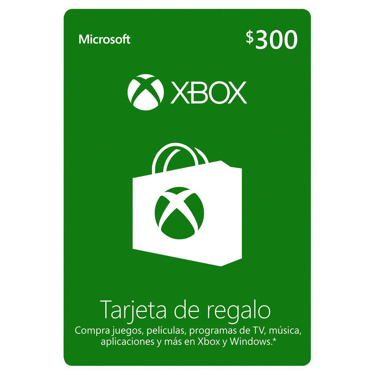 Sanborns Tarjeta Xbox Live Gold 300