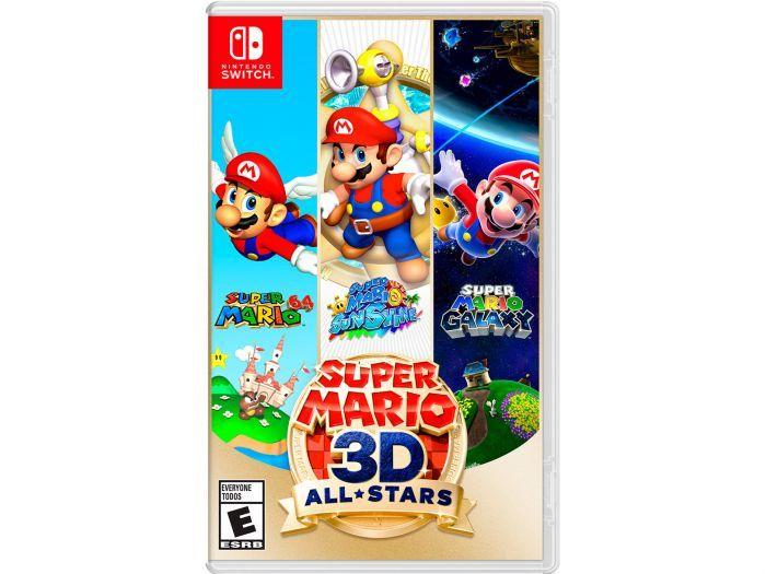 HEB: Nintendo Videojuego Super Mario 3d All Stars